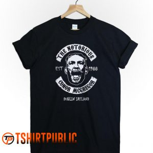 The Notorious Conor McGregor T Shirt Adult