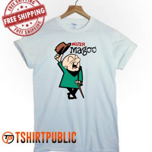 Mr Magoo Character T Shirt