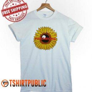 Paramore Sunflower T Shirt