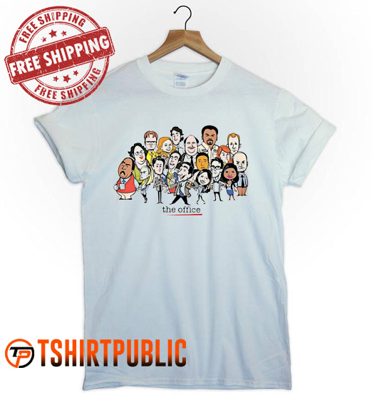 The Office T Shirt Adult Free Shipping
