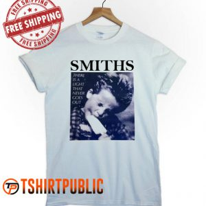 The Smiths There Is A Light That Never Goes Out T Shirt