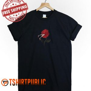 Rose With Foot T Shirt