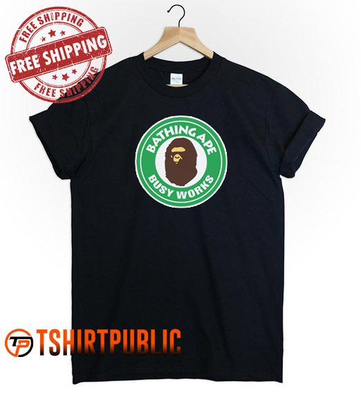 Bathing Ape Busy Works T Shirt