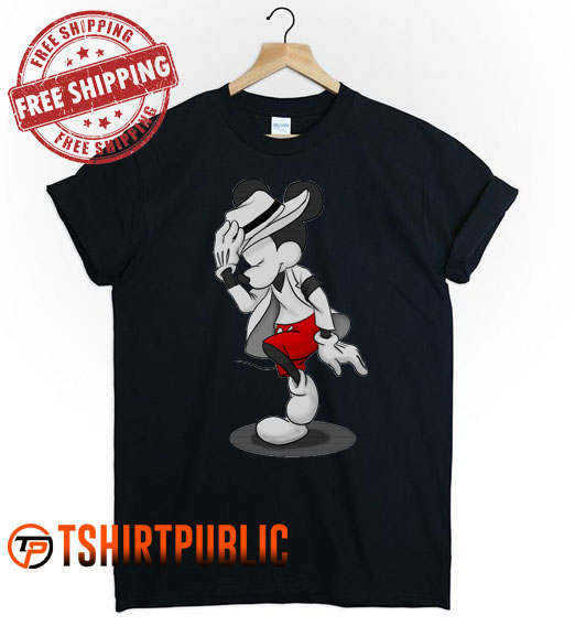 Mickey Mouse Michael Jackson T Shirt