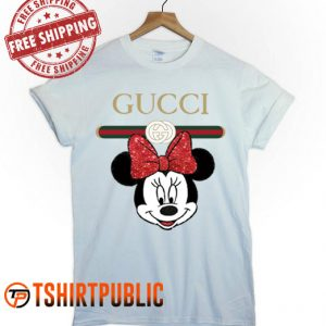 Gucci Minnie Mouse T-shirt Adult Free Shipping