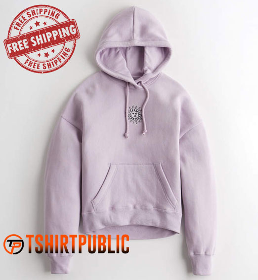 Sun Embroidered Hoodie